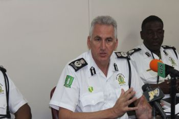 Commissioner of Police Michael B. Matthews has also called for the support of all residents in bringing the perpetrators of the fatal shootings on November 22, 2017 at West End, Tortola, to justice. Photo: VINO/File