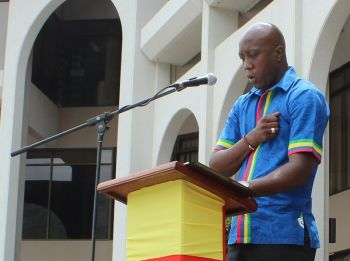 It was in January 2016 that Minister for Education and Culture Hon Myron V. Walwyn (AL) had controversially stated that Government can no longer write laws to 'fully protect locals.' Photo: VINO/File