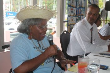 During a discourse with members of the Rotary Club of Tortola on July 31, 2014, Parsons was giving an historical reflection of how the many holidays came into being but insisted that it is time that is changed in the interest of businesses in the Virgin Islands. Photo: VINO/File