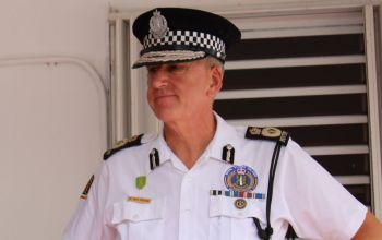 Commissioner of Police, Mr Micheal B. Matthews says the businessman was warned twice about serving customers in breach of the curfew, before his arrest. Photo: VINO/File
