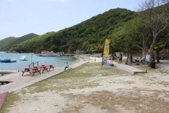 According to a family from Jost Van Dyke, they were denied access to a certain beach area on Peter Island on Saturday January 7, 2017. Photo: VINO/File
