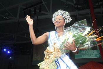 """Yes indeed I am ready, I am very ready for the challenge and the experience,"" Miss BVI Jaynene Jno Lewis told Virgin Islands News Online today as she winded down preparation to leave these shores to represent the territory at this year's Miss Universe Pageant. Photo: VINO/File"