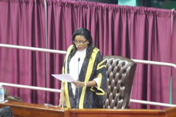 Hon Ingrid A. Moses is the youngest Speaker of the House of Assembly of the Virgin Islands. Photo: VINO/File