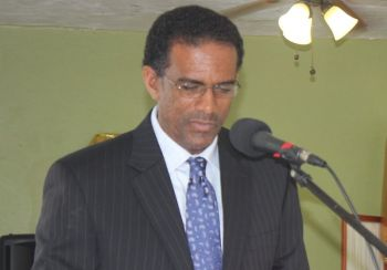 Acting Premier and Minister for Natural Resources and Labour, Dr The Honourable Kedrick D. Pickering (R7) has constantly come under a hail of allegations of him being the main culprit in selling out islands and lands to his 'rich white friends'. Photo: VINO/File
