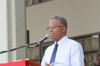 Dr The Hon Hubert O'Neal (R9) told constituents at a Public Meeting on November 9, 2016 that he was angry with statements Opposition Leader Hon Julian Fraser RA had made about him and that he would have punched him if he was close by. Photo: VINO/File