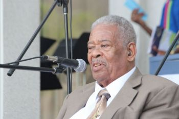 Hon Ralph T. O'Neal OBE was the longest-serving elected official in the history of the Territory of the Virgin Islands, having served in the House of Assembly and Legislative Council for almost forty (40) years from 1975 to 2015. On July 6, 2015, the House of Assembly honoured Honourable O'Neal by passing a Resolution bestowing upon him Member Emeritus status. Photo: VINO/File