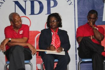 Hon Maduro-Caines said many in the Dr. Smith led NDP 1 believed she would not be able to represent the district and even said she would be easily beaten in the polls. Photo: VINO/File