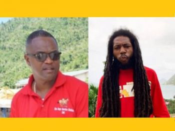 Prominent Businessman and the Boys Service Station co-owner Rodney A. Simmonds (left) and another man identified as Andrew J. Skerritt (right) were found dead with gunshot wounds on Friday, February 5, 2021. Photo: VINO/File/Provided