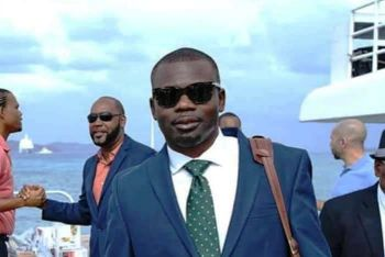 Minister for Transportation, Works and Utilities, Hon Kye M. Rymer (R5). Photo: Facebook/File