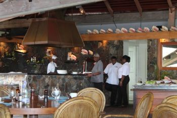 Over the final two days of the closure, employees of Little Dix Bay Hotel and Resort will be regrouping by participating in fun activities at the resort, including cooking competitions. Photo: VINO/File