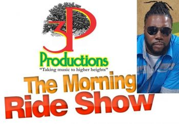 Former Director of the Water and Sewerage Department Julian Willock was a guest on the International Morning Ride Show on ZROD 103.7 FM with host Paul A. Peart aka 'Gadiethz' (right) on Thursday May 18, 2017. Photo: Facebook