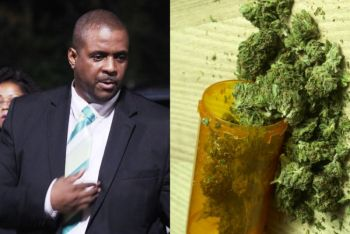 Premier and Minister of Finance, Hon Andrew A. Fahie (R1) in February 2017 said he believes the Virgin Islands can no longer shy away from the discussion about the legalisation of cannabis. Photo: VINO/Internet Source