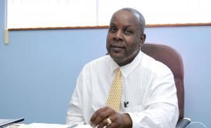 Acting Managing Director of the BVI Ports Authority (BVIPA) Alfred 'Al' Henley (in photo) declined to comment on the allegations of Mr Phillip E. Mickle. Photo: VINO/File