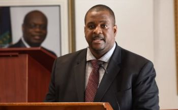 Premier and Minister of Finance, Hon Andrew A. Fahie (R1) indicated that a number of Canadian and American companies have made presentations to the Government and that research has been done to indicate a specific strand of marijuana that can be grown in the Territory. Photo: VINO/File