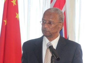 Premier and Minister of Finance Dr the Honourable D. Orlando Smith has has refuted the allegations of the NDP trying to pay persons for their votes. Photo: VINO/File
