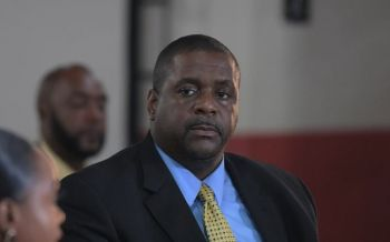 Following his budget speech announcing that provisions were made is the 2020 Budget for the commissioning of a Constitutional Review in the Virgin Islands (VI), Premier and Minister of Finance Hon Andrew A, Fahie (R1) has now announced that the process will be initiated before the end of November 2019. Photo: GIS/File
