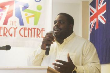 Virgin Islands Party (VIP) Youth Leader and President of the 'Ready Committee' Rajah A. Smith has brushed aside the notion by some that if the National Democratic Party (NDP) Government of Dr the Honourable D. Orlando Smith is removed from office in the next general election due by February 2016 that it might affect the business community. Photo: VINO/File