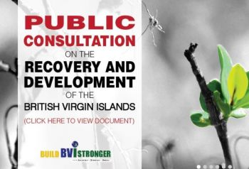 The draft recovery plan following the August floods and September hurricanes has been posted on the Government website for input from residents, according to the National Democratic Party Government. Photo: bvi.gov.vg