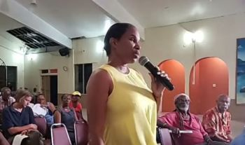 The new security measure comes a few days after Social Commentator, Rosemary R. Rosan-Jones aka 'Cindy' had threatened to shut the HoA down after inquiring how to remove the 3-month old Virgin Islands Party (VIP) Government from office. Photo: Facebook/File