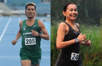 The visiting runners also ensured a clean sweep of the 2-race series as Reuben J. A. Stoby and Maria Mays were the respective male and female winners. Photo: File