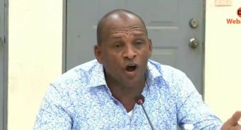 Hon Mark H. Vanterpool (R4) on September 12, 2019, had accused the Premier Andrew A. Fahie (R1) led Virgin Islands Party (VIP) administration of wasting time with the negotiations instead of proceeding with the territory's rebuilding. Photo: Facebook/File