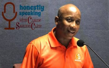 Claude O. Skelton-Cline was at the time speaking at the Thursday, July 16, 2020, edition of his radio show on Public radio ZBVI 780am when he said that the people of the territory continue to participate in their own subjugation by being easily comforted and persuaded with 'nice words'. Photo: Facebook/File