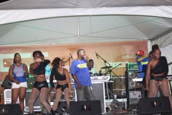 Local bands have constantly complained of being unfairly treated by the Virgin Islands Festival and Fairs Committee (VIF&FC) over the years. Some of them have demanded to be regarded as the feature entertainers on stage shows and that more monies are paid to them. Photo: VINO/File