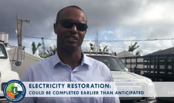 Deputy General Manager of BVI Electricity Corporation (BVIEC), Mr Henry O. Creque implored persons wishing to hook up their generators to their homes to get a licensed electrician to do the installation with a transfer switch and get it inspected by the Ministry of Communications and Works. Photo: Facebook