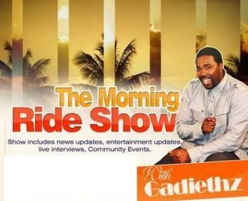 "Hon. Andrew A. Fahie was a guest on the Morning Ride radio show with Paul ""Gadiethz"" Peart on ZROD FM earlier today, May 15, 2013. Photo: Provided/File"