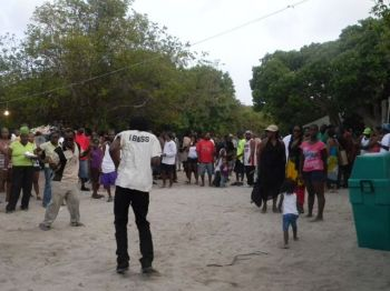 The man was reportedly stabbed shortly after police had stopped the partying on the beach following a brawl. The stabbing incident also reportedly occurred long after the annual Fishermen's Tournament had wrapped up at Beef Island. Persons had stayed back at the beach for the usual after tournament party. Photo: VINO/File