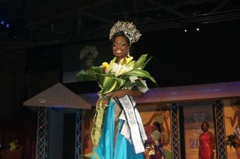 Miss deCastro, a 4th generation Virgin Islander, was crowned Miss BVI 2012/2013 on August 5. Photo: VINO