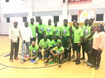 Defending champions Bayside Blazers will come up against the Ray D. Victor-led Pure Playaz in opening night action of the 2019 Hon Julian Fraser Save the Seed National Basketball on August 24, 2019. Photo: VINO/File