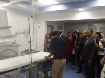 The Bougainvillea Clinic, a privately owned and operated hospital in Road Town, Tortola, launched its Cardiac Catheterisation Laboratory on Saturday, October 27, 2018. Photo: VINO/File