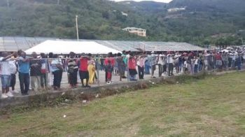Many residents from both the Virgin Islands (VI) and the USVI turned out in numbers to witness the return of the great cultural event. Many residents from both the Virgin Islands (VI) and the USVI turned out in numbers to witness the return of the great cultural event. Photo: VINO
