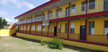 The building constructed by Unite BVI and Cable and Wireless Relief Foundation to accommodate students of Bregado Flax Educational Center- Secondary Division. Photo: VINO