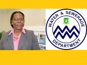 The Water and Sewerage Department (W&SD) is headed by a Director, who is currently Mrs Perline R. Scatliffe-Leonard. Photo: VINO/File