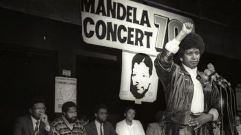 Mrs Winnie Madikizela-Mandela (pictured in 1988) became a symbol for the anti-apartheid movement in her own right. Photo: Reuters