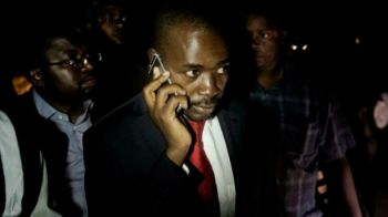 Nelson Chamisa says the delay in announcing the results from Monday's election suggests wrongdoing. Photo: AFP