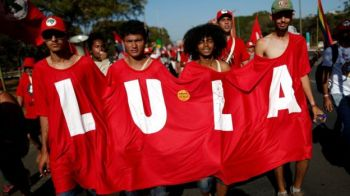 Polls suggest around a third of Brazilians would back Lula if he ran. Reuters