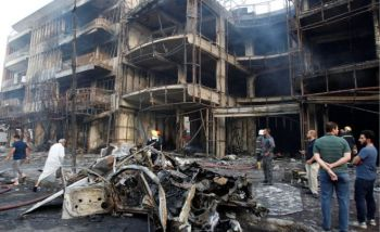One of the deadliest attacks allegedly by ISIS occurred on Sunday July 3, 2016 in Baghdad, Iraq, killing more than 200 people. Photo; Internet Source