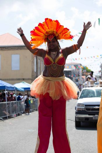 This year's St. Thomas Carnival was held under the theme, 'The Biggest Fete Ever Seen, Carnival 2014.' Photo: John F. Black
