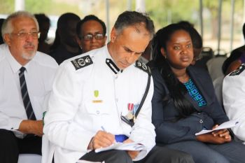 Mr Matthews succeeds David Morris (in photo) as Police Commissioner of the Royal Virgin Islands Police Force. Photo: VINO/File