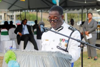 According to reports, Deputy Commissioner of Police Alwyn James will act in Morris's position until the new Commissioner takes up the post on September 1, 2015. Photo: VINO