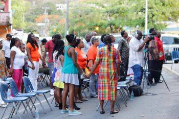 According to Minister Vanterpool, the annual Emancipation Service at the Sunday Morning Well is probably one of the most important aspects of the Emancipation celebrations and is in fact the reason for the annual festivities. Photo: VINO