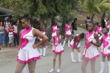 Another troupe of majorettes. Photo: VINO