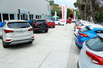 Tortola Auto Group (TAG), the official Hyundai dealer in the Virgin Islands, joined forces with four banks to bring great deals and a super low interest rate for customers across the Virgin Islands during its 'Sweetheart Deals' Valentine Sales event on February 12 and 13, 2016. Photo: VINO