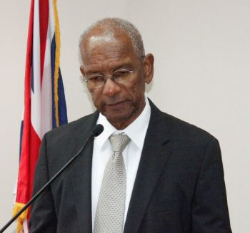 Premier and Minister for Tourism, Dr The Hon D. Orlando Smith said he expects to see a record number of cruise visitors and an increase in the overnight arrivals this tourist season. Photo: VINO/File