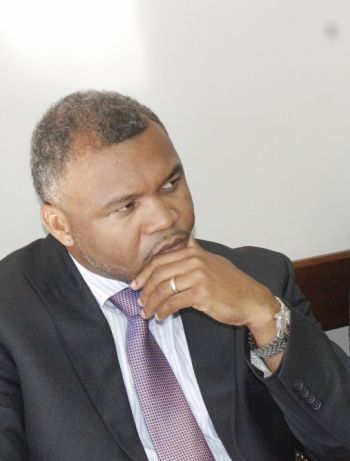 """Permanent Secretary in the Premier's Office Broderick Penn stressed that it is clear that the territory is well regarded for its regulatory strength in the sector and that the proof is in the pudding. He noted that the VI complies with the highest international standards for tax purposes, for regulatory purposes among others. """"We are compliant with FATF, we are compliant with the OECD. Both of those set standards for international exchange for tax purposes,"""" he said. Photo: VINO"""