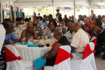 The luncheon to honour persons who made a contribution to the development of horse racing in the Virgin Islands over the years has been a success so far. Photo: VINO/File