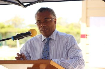 Ninth District Representative, Dr The Honourable Hubert O'Neal has said he will be lobbying his National Democratic Party (NDP) Government for funds to repair the Anegada Community Centre. Photo: VINO